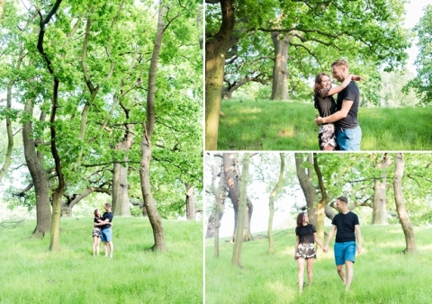 Richmond Park Engagement Session - Jack and Jane Photography - Michael & Jennie_0001